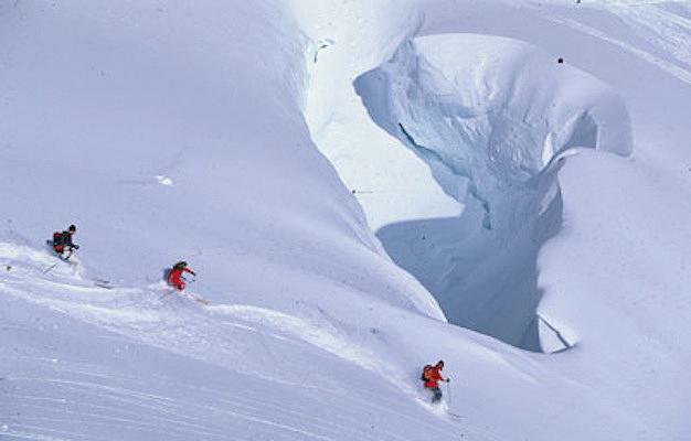 Skiing Glacier
