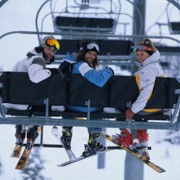 Chairlift in Chamonix