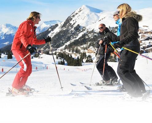 Beginner Ski Lessons