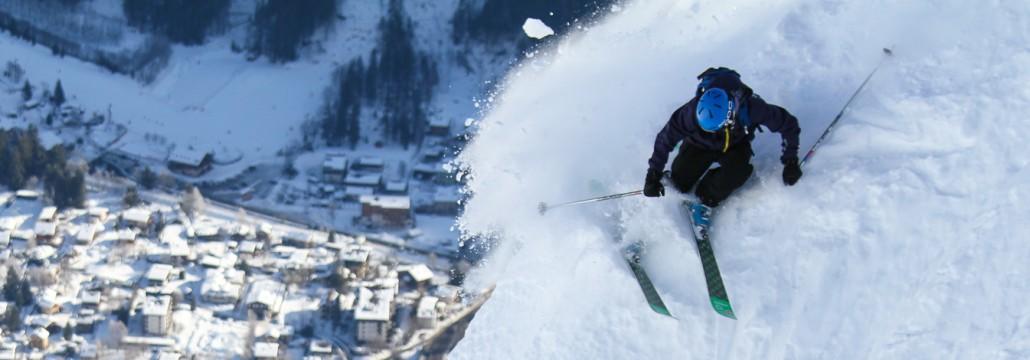 Chamonix Skier