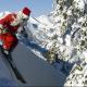 Farther Christmas Skiing
