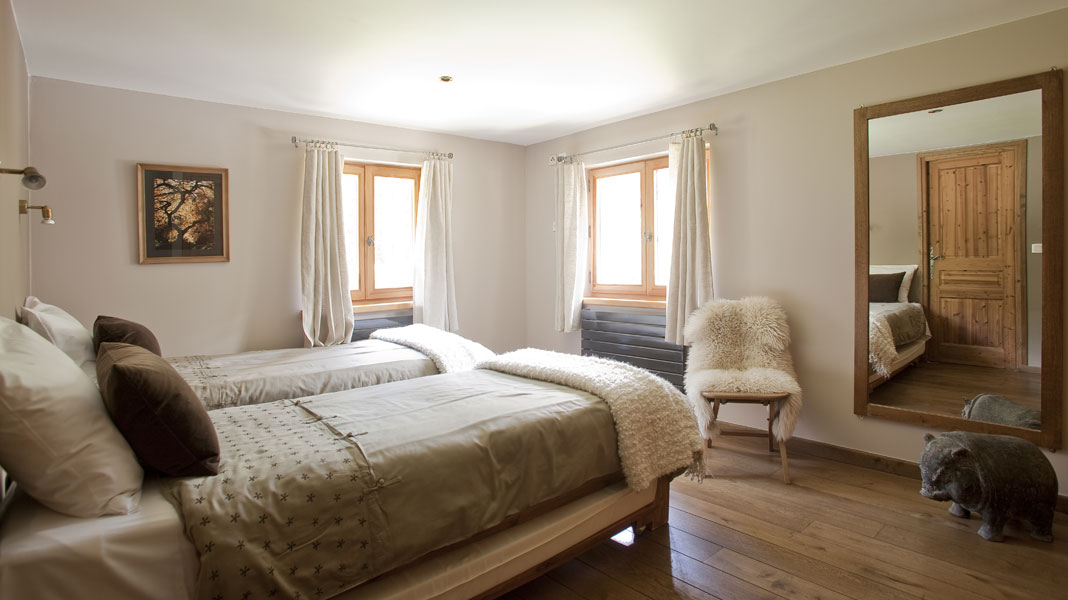 Luxury Chalet Arberons - Bedroom