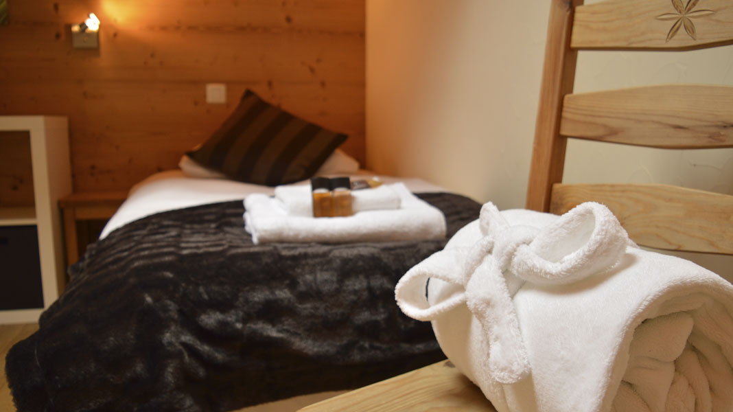 Luxury Chalet Arberons - Bedroom