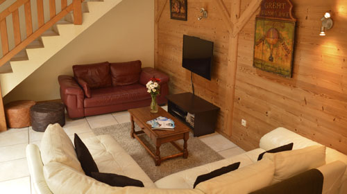 Chalet Eagle Living Room