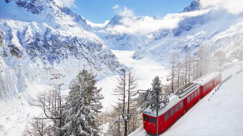 Montenvers Train Chamonix