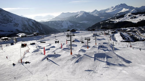 The Morzine Snowpark