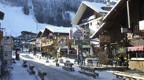 Centrally Located in Morzine