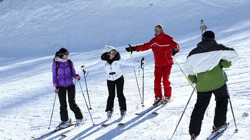 Ski Lesson Starts Here!