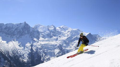 Intermediate Skier