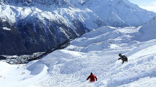 Ski 3 Countries in 1 week!