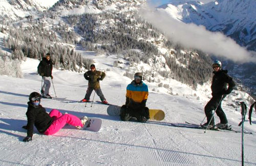 Intermediate Ski & Snowboard Week