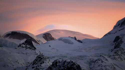 Sunset Mont Blanc