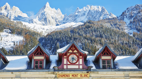 Chamonix Train Station