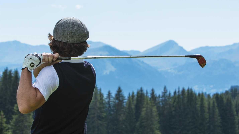 Golfing in Morzine