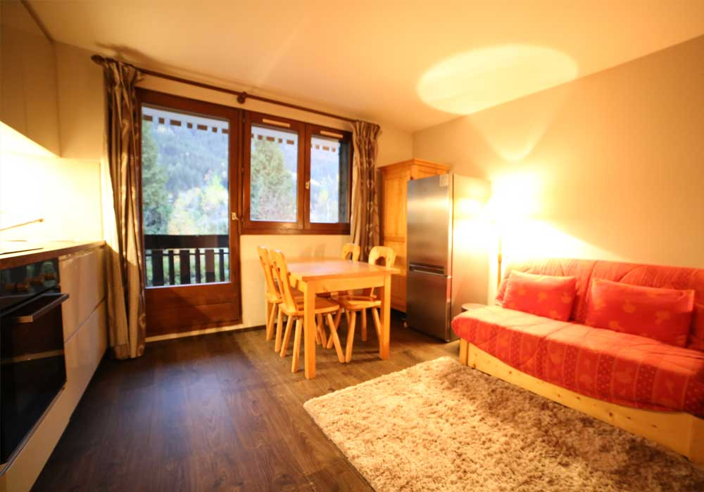 Self Catered Apartment Chamonix Champraz