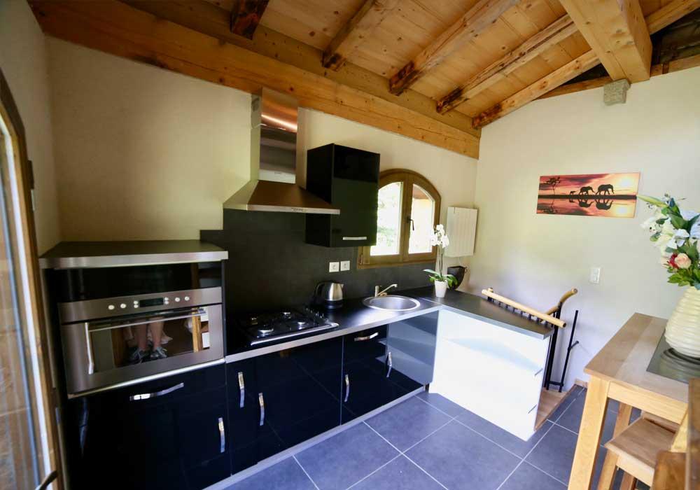 Self Catered Studio Arberons Kitchen